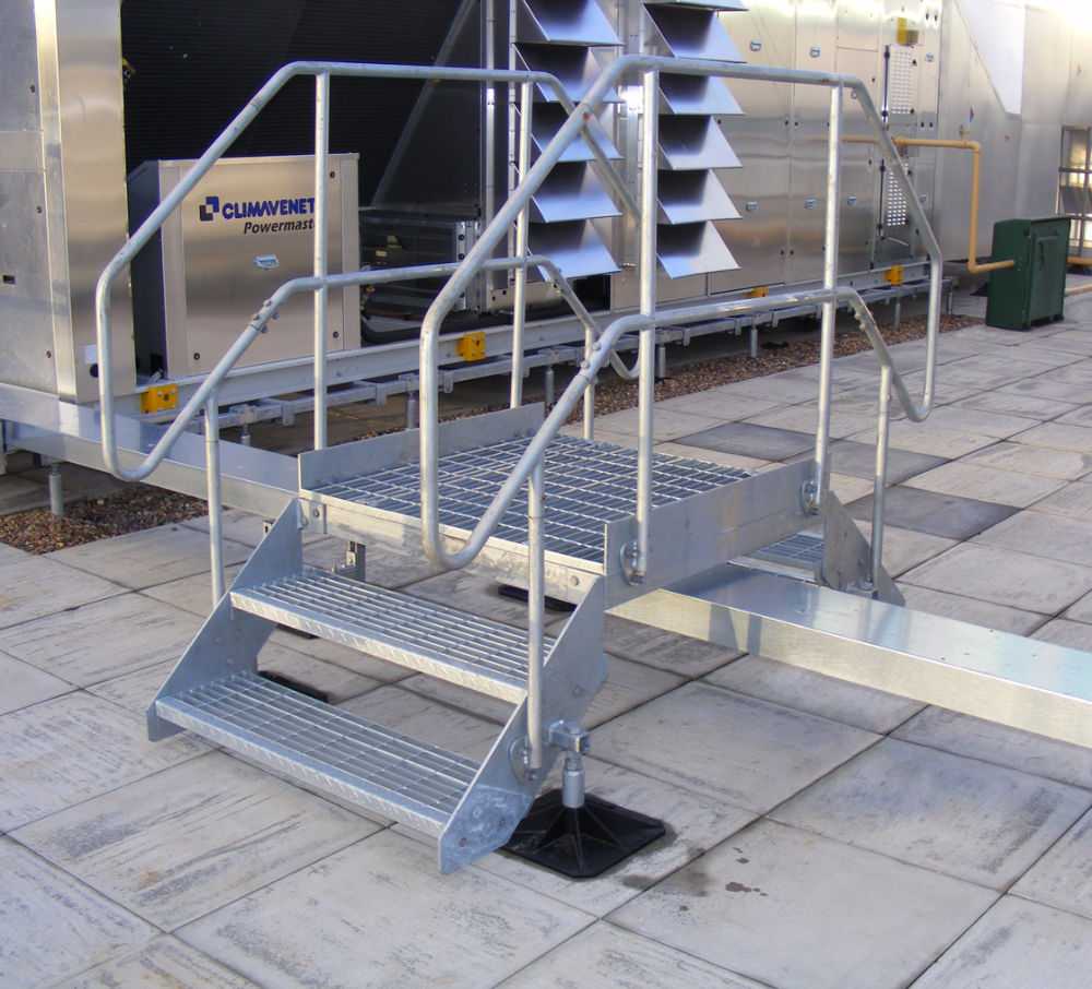 Roof Access Step Overs 187 Flexi Support Systems